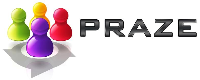 PRAZE logo